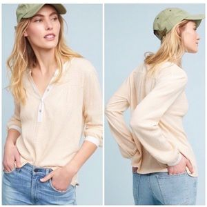 Anthropologie DOLAN Orange Cream soda Long Sleeve